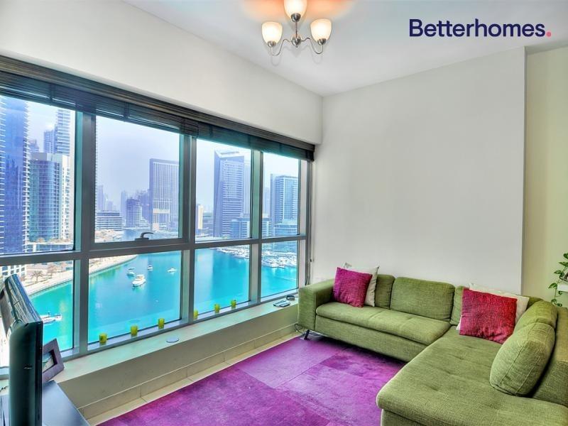 Very Bright   1 Bedroom   Full Marina View
