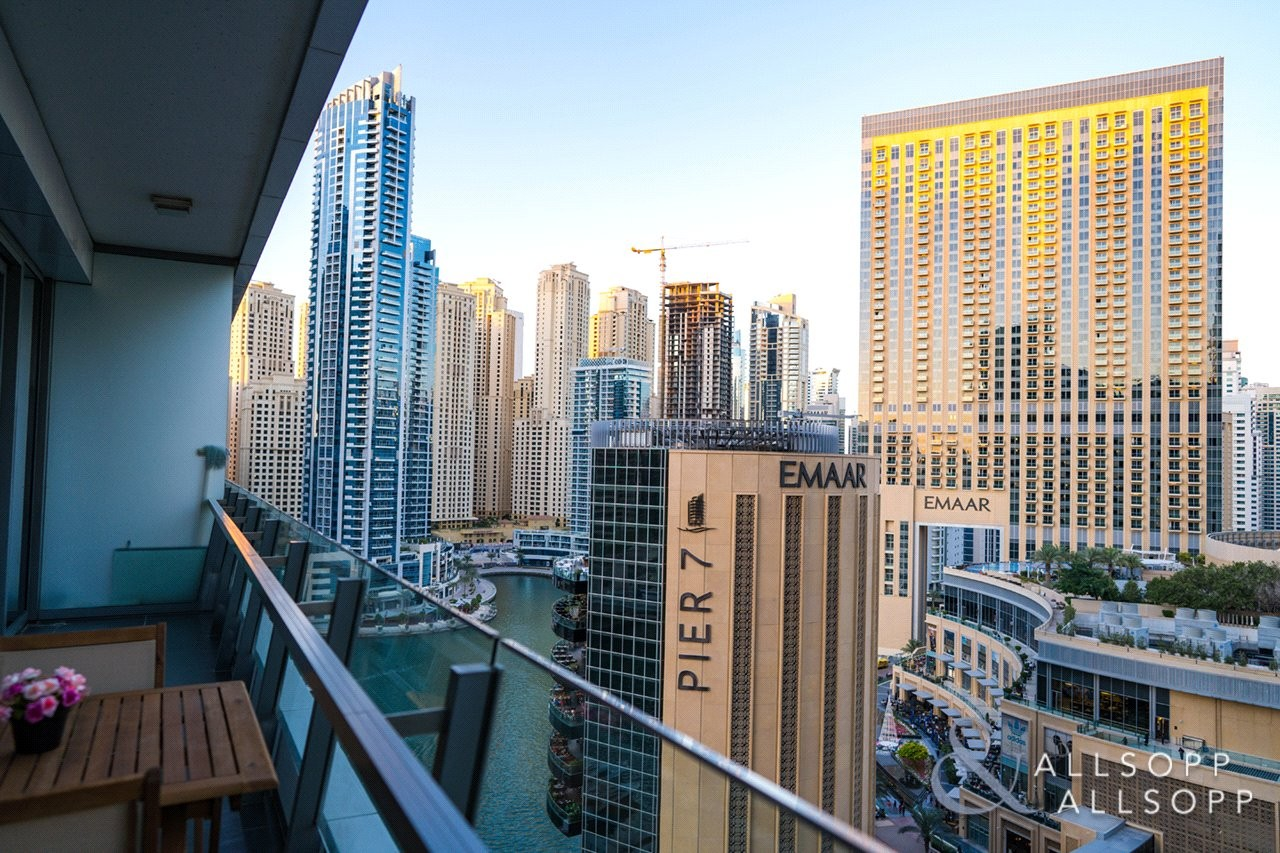 Full Marina Views | Vacant | Two Bedrooms