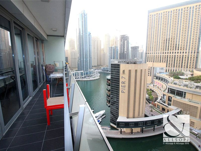 Upgraded 2 Bed | Marina View | Vacant Soon
