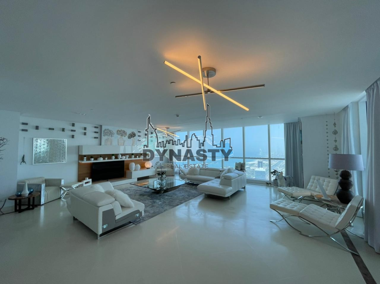 Penthouse   4 BR   Panoramic Sea View  & Golf Course