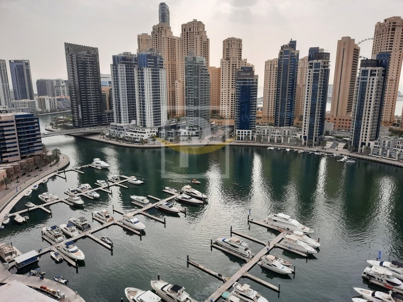 Full Marina View | Dubai Marina Water Front Living 2B/R+Maid's | VIP