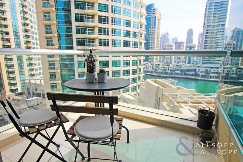 Marina Views | Unfurnished | Two Bedrooms