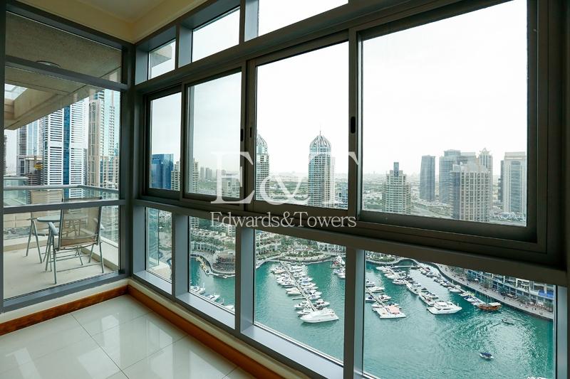 Exclusive: Full Panoramic Marina View | High Floor
