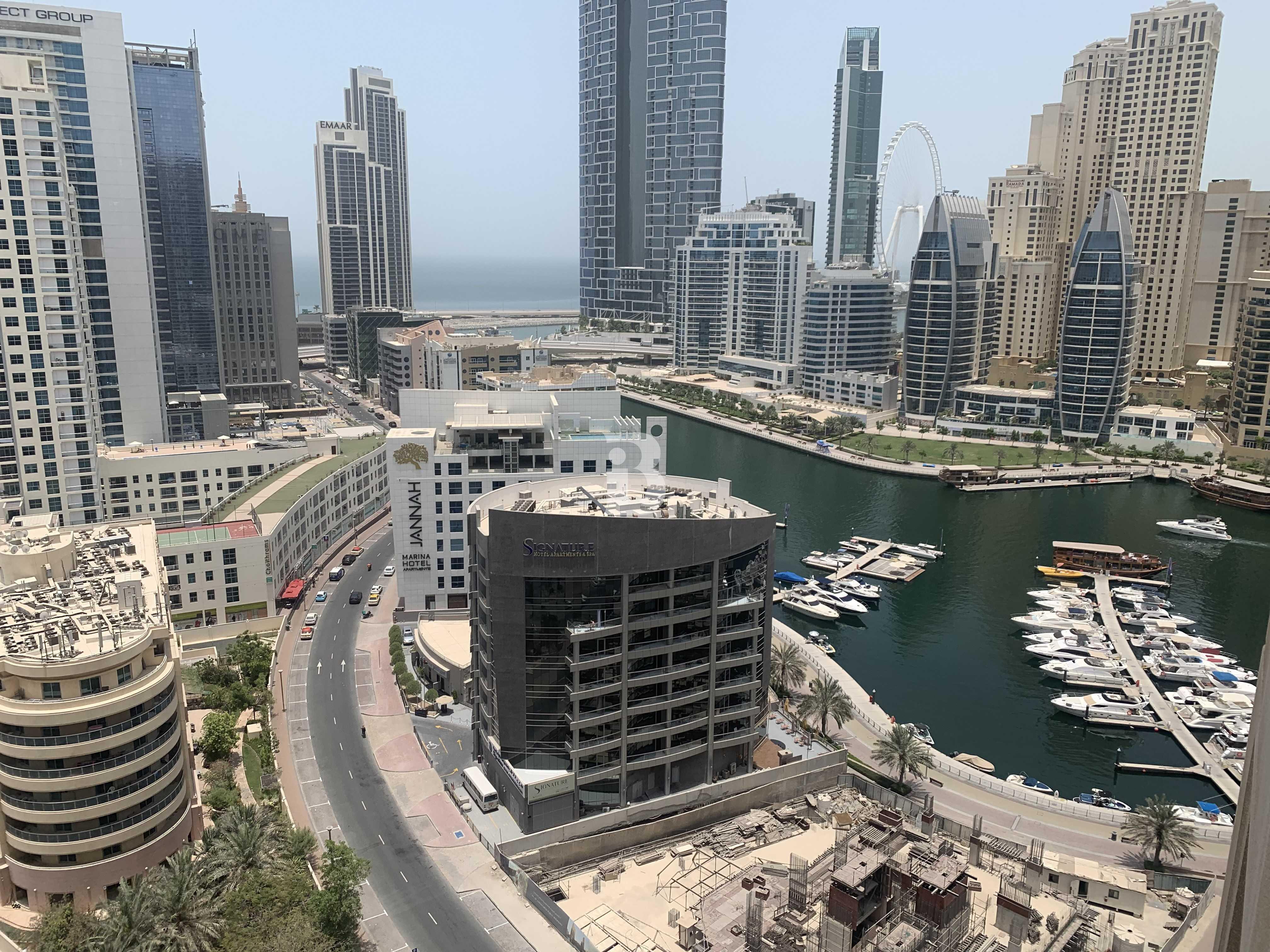 Amazing Marina View unit Huge Balcony. . .