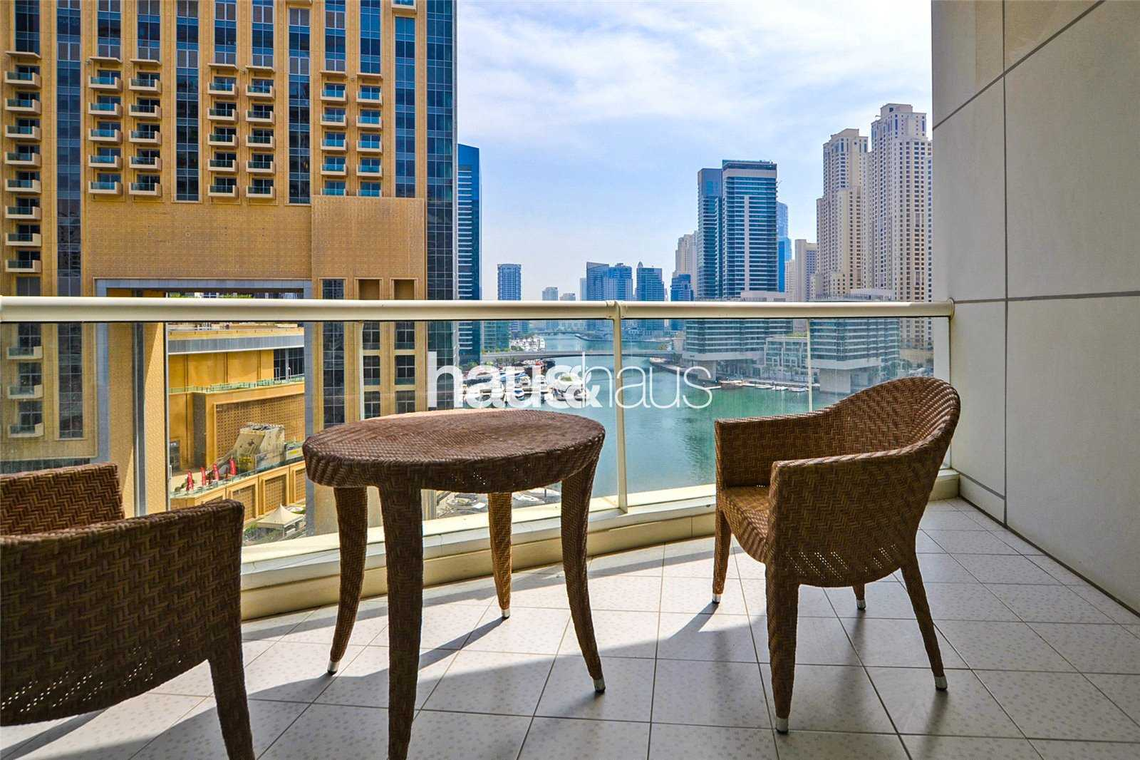 Chiller Free   3 Large Terraces   Marina views
