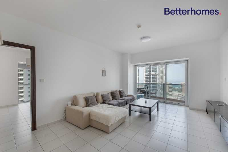 Large 1 Bed   Furnished   Marina & Palm View