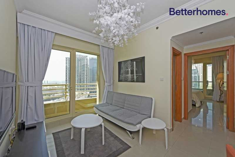 Marina View Furnished 1 Bed in Manchester Tower