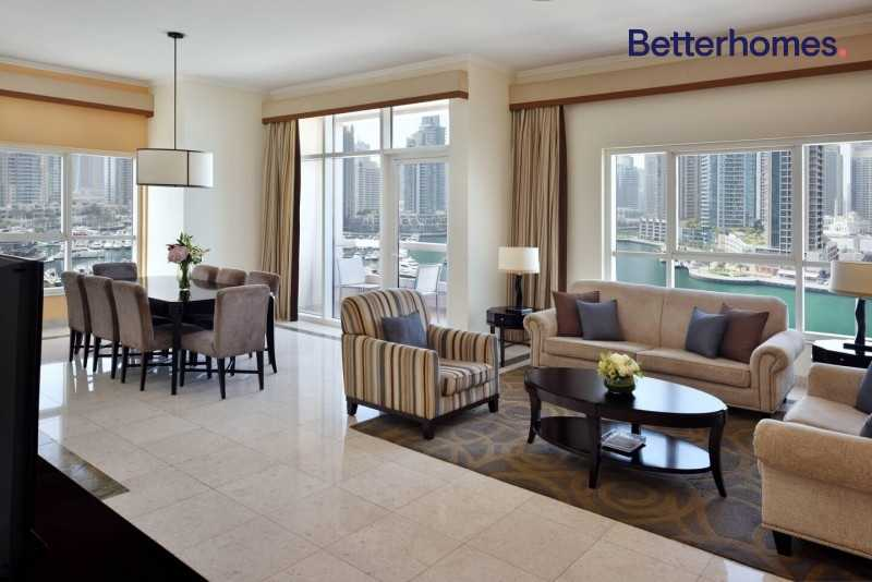 Marina View|High Floor|Fully Furnished | Luxurious