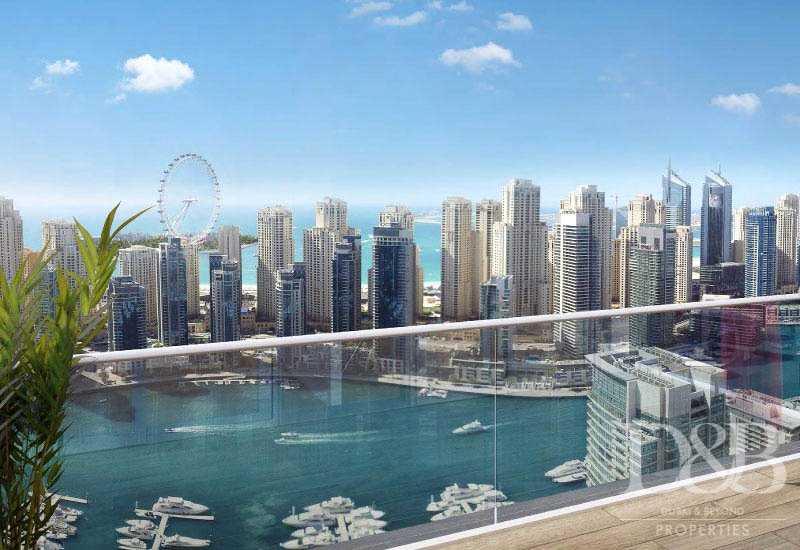 Emaar| Full Marina View | Exclusive |Balcony