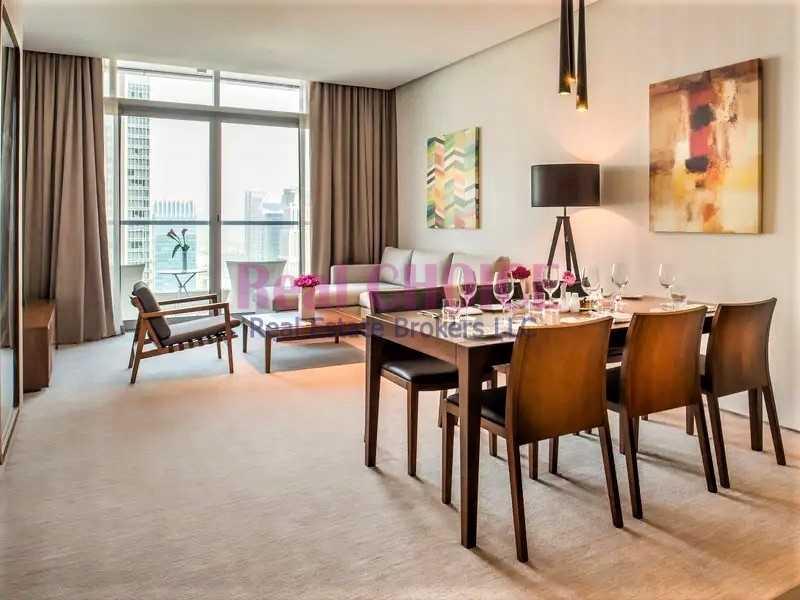 Stunning Views of Marina |  3 BR + M Hotel Apartment