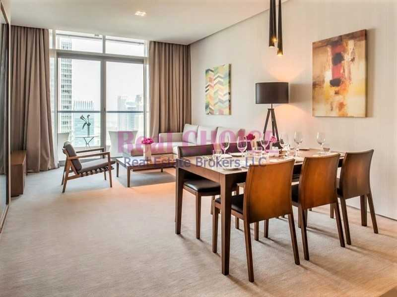 Amazing JBR View |  Furnished 2 BR Hotel Apartment