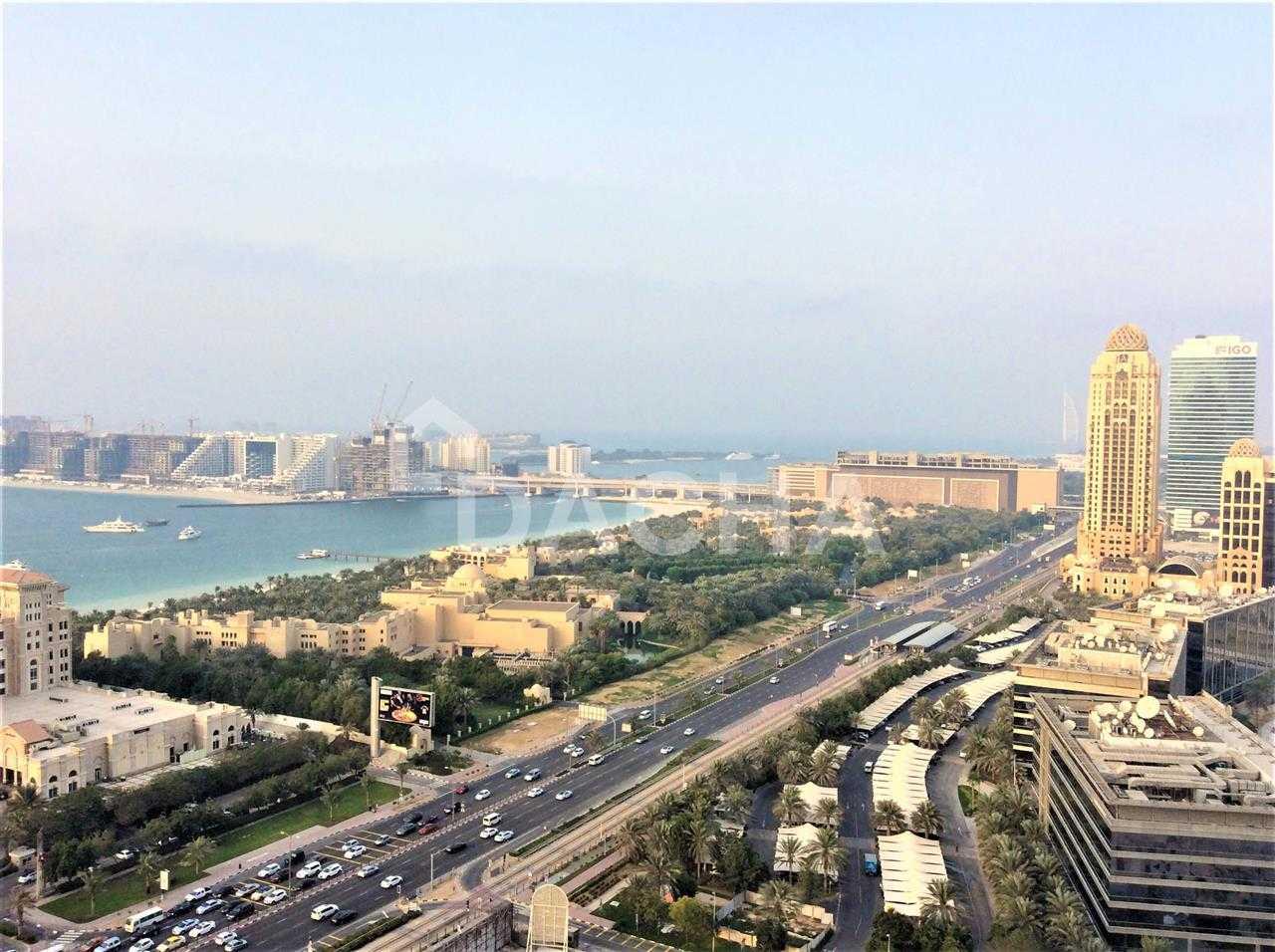 Sea, Palm & Media City Views / Top Quality
