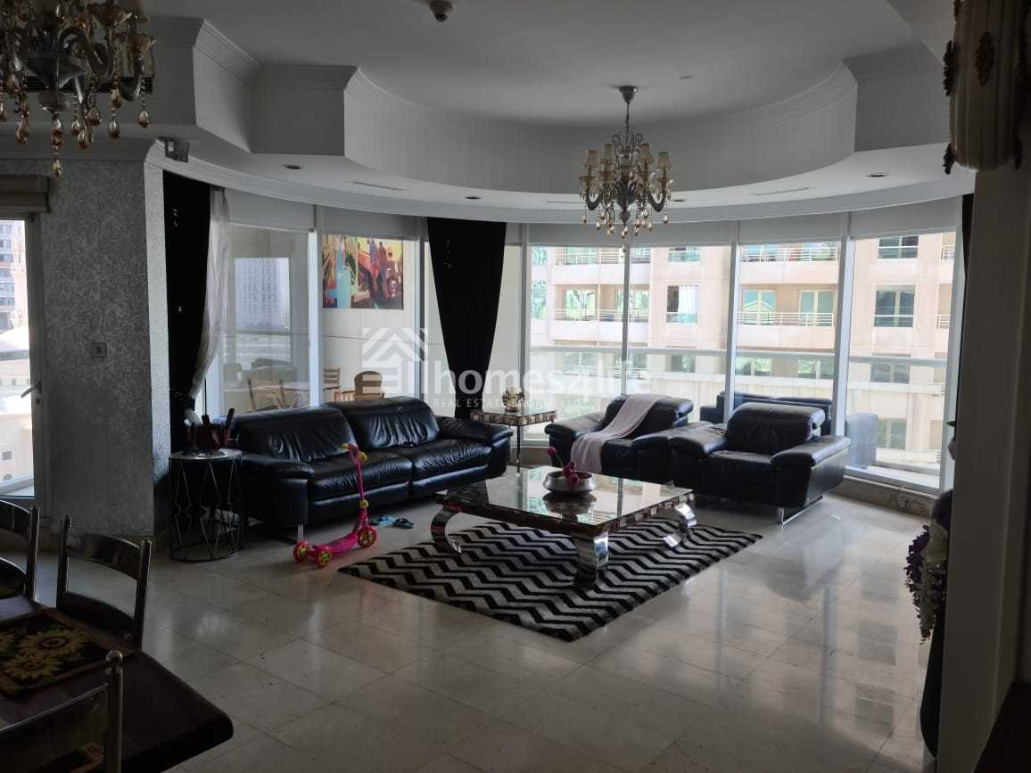 Rented Unit | Marina  View 3 Bed +Maid 1.6m