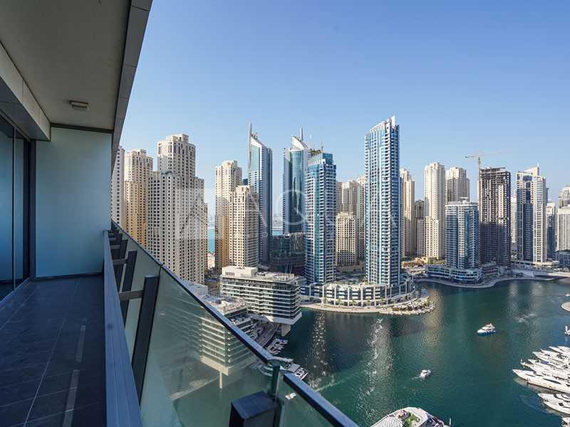 Big Layout | Full Marina View | High Floor