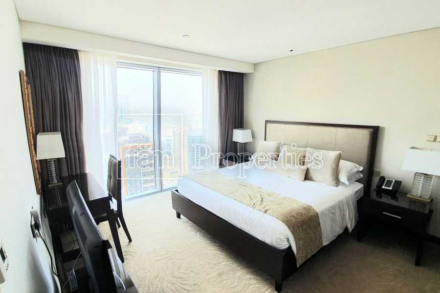 High floor/ amazing view/ fully furnished