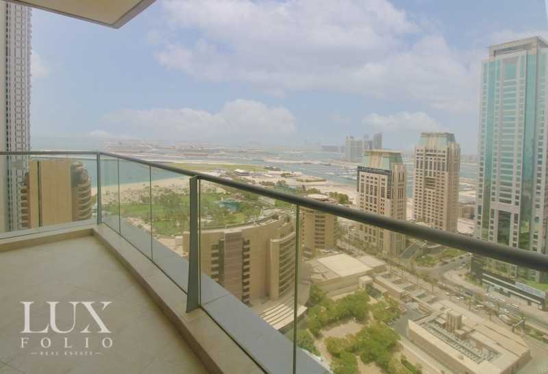 Full Sea/ Palm View   Spacious   Unfurnished