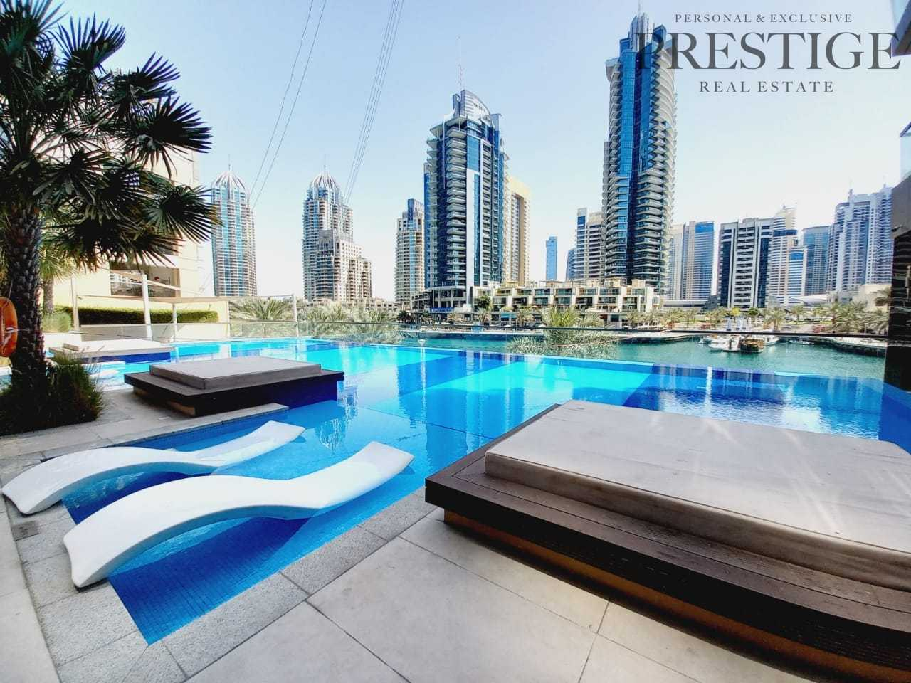 Luxury living  | Two Beds | Marina View