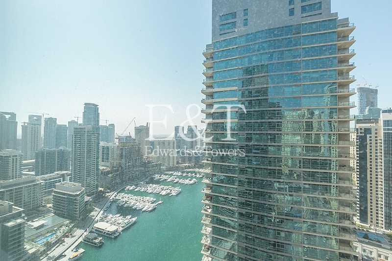 Furnished   High Floor   Full Marina View