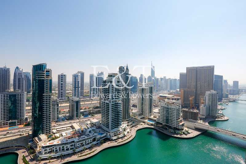 Ready to Move in | Superb 2 BR With Marina View