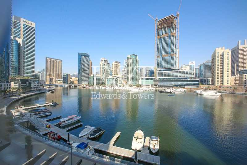 Upgraded Duplex Podium Villa   Full Marina View
