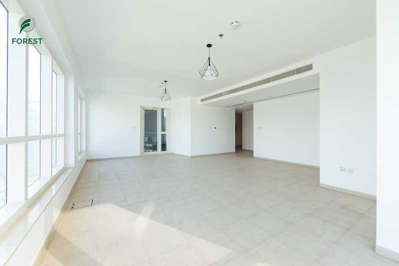Spacious | 2BR with Marina View |Well Maintained
