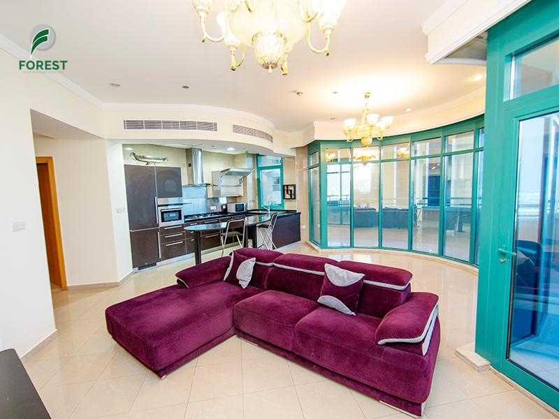 Partly Furnished   Spacious 2BR Apt   Mid Floor