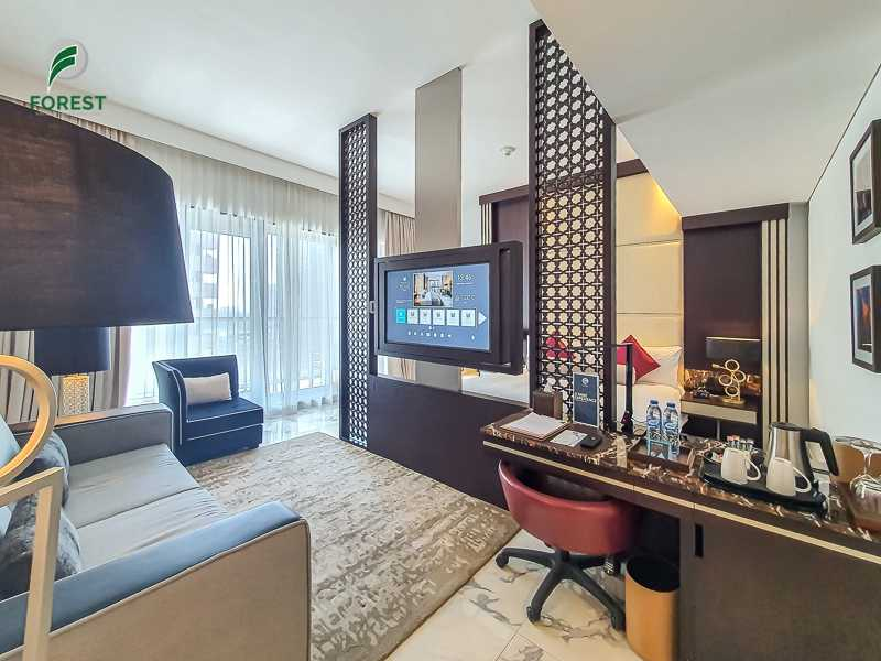 Spacious Unit |Fully Furnished Studio | Vacant