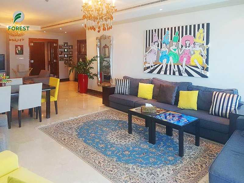 Beautiful Sea View   3BR + M Apt   Fully Furnished