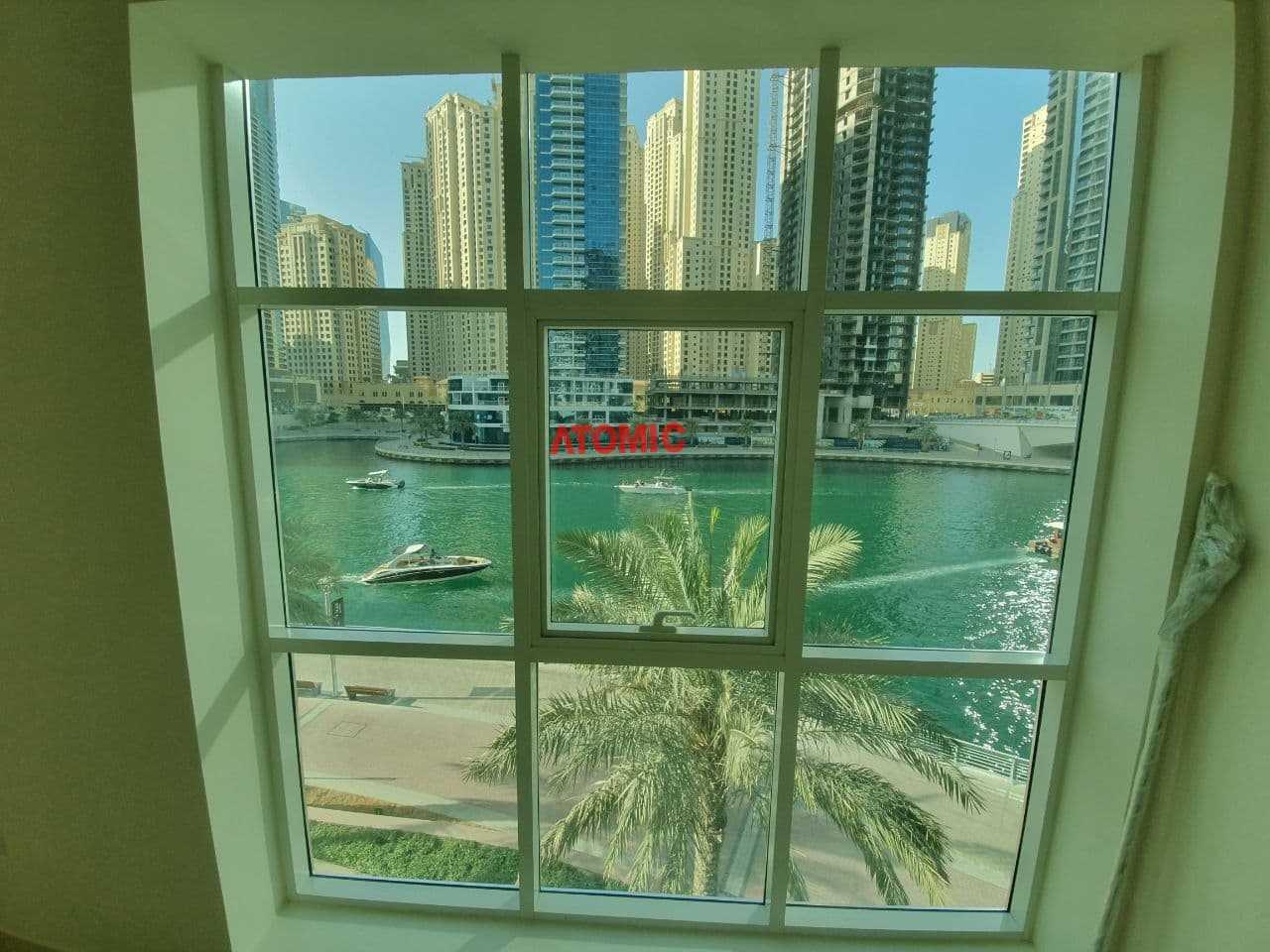 Full Marina View   Spacious and Bright 1 BR