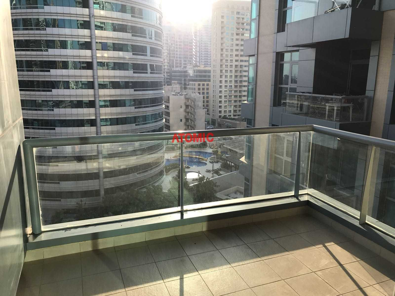 Unfurnished Near Metro  1BR Marina Residence @ 45K Only
