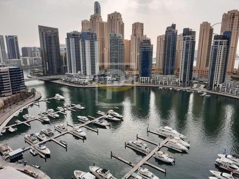 Full Marina View | Dubai Marina Water Front Living 2B/R+Maid's | VIP
