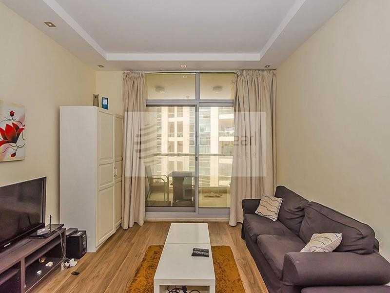 Furnished Studio | AC Included | Multiple Cheques
