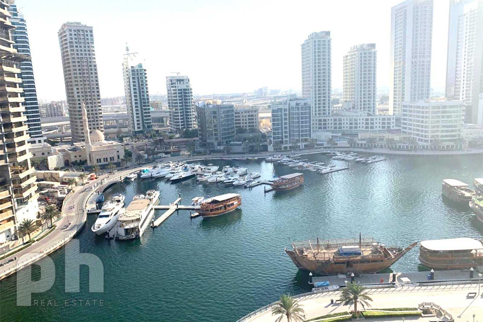 Full Marina View | Mid Floor | Modern