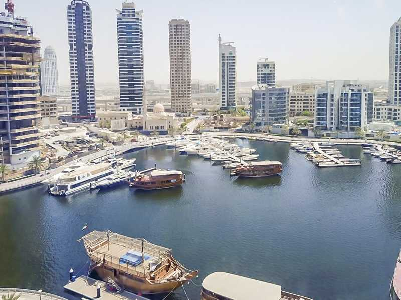 Full Marina View| Well Maintained|Bright