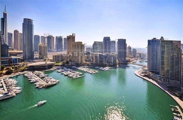 Spacious & Bright 3BR with amazing full marina view - Vacant in July