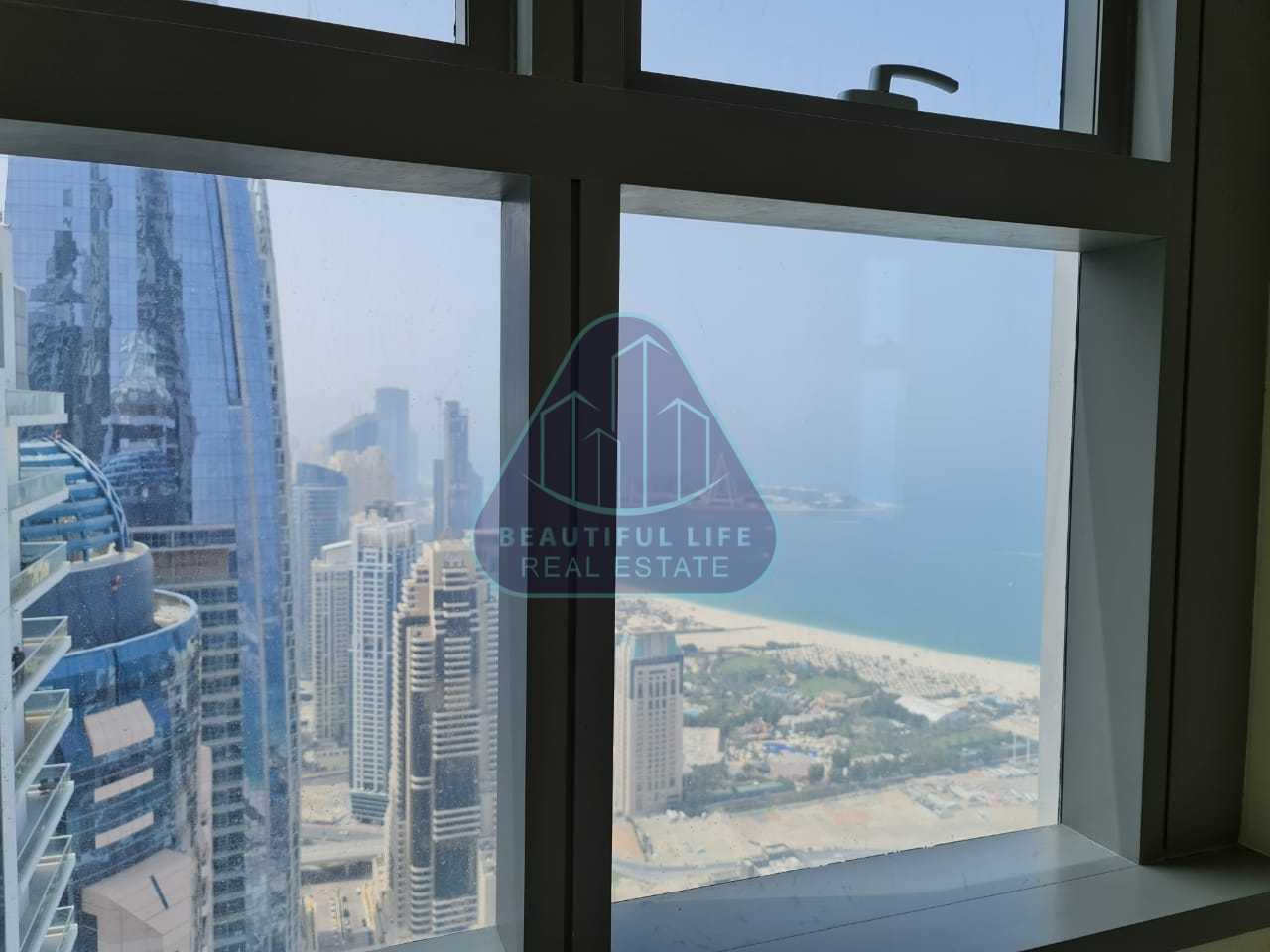 Spectacular Palm and Sea View 3BR on Higher Floor
