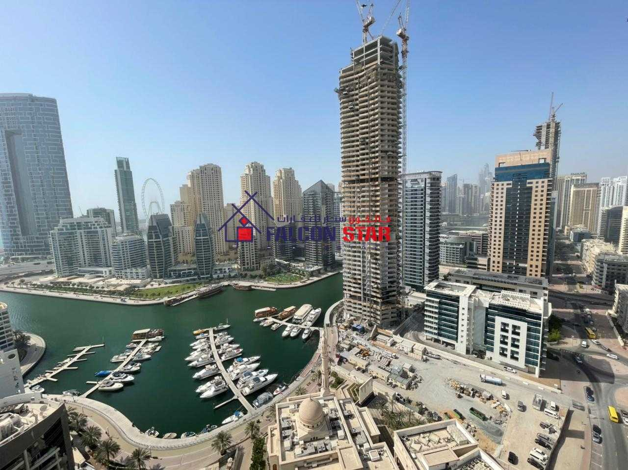 Price Reducedd!!  Spacious 3BHK  Marina View Higher Floor Chiller Free