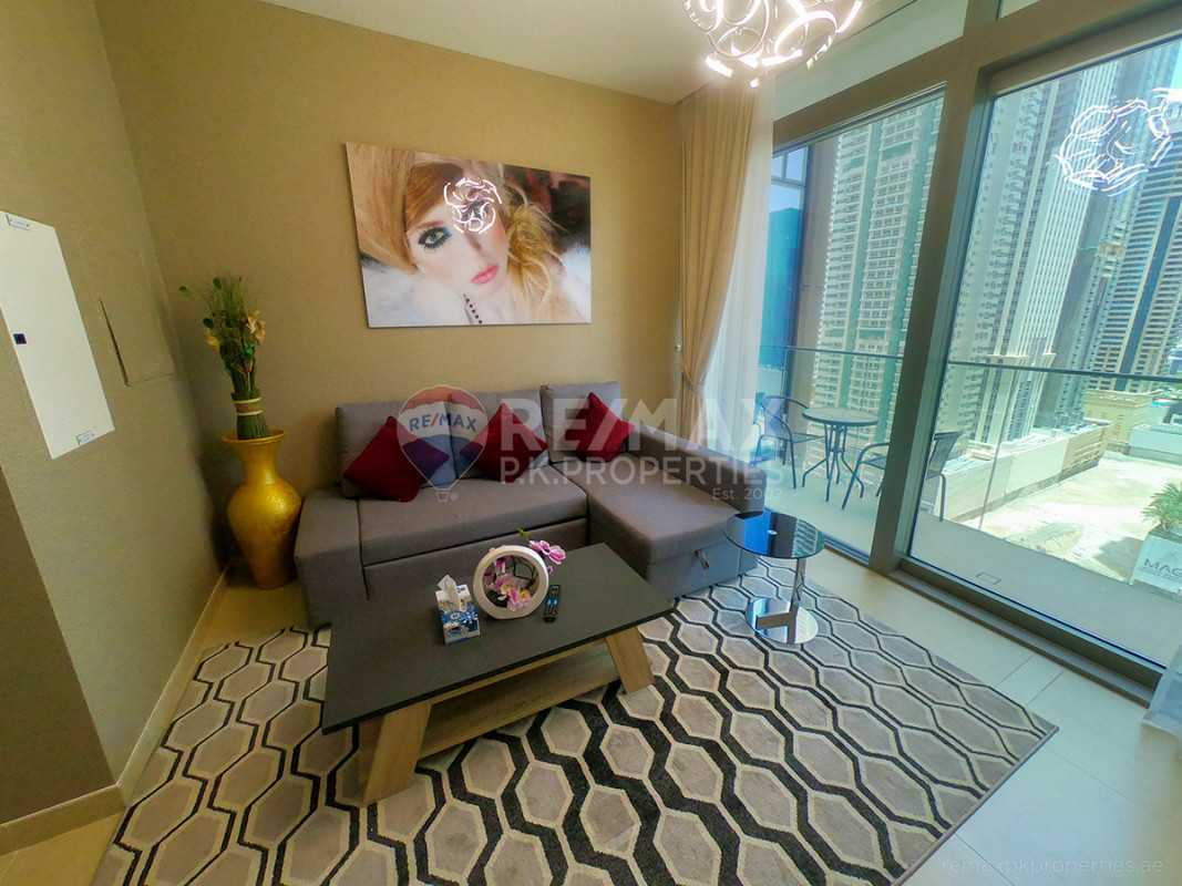 high floor fully furnished apartment ready to move