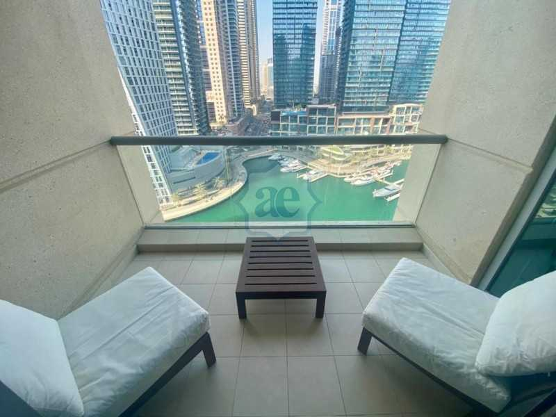 Fully Furnished | Chiller Free | Full Marina View