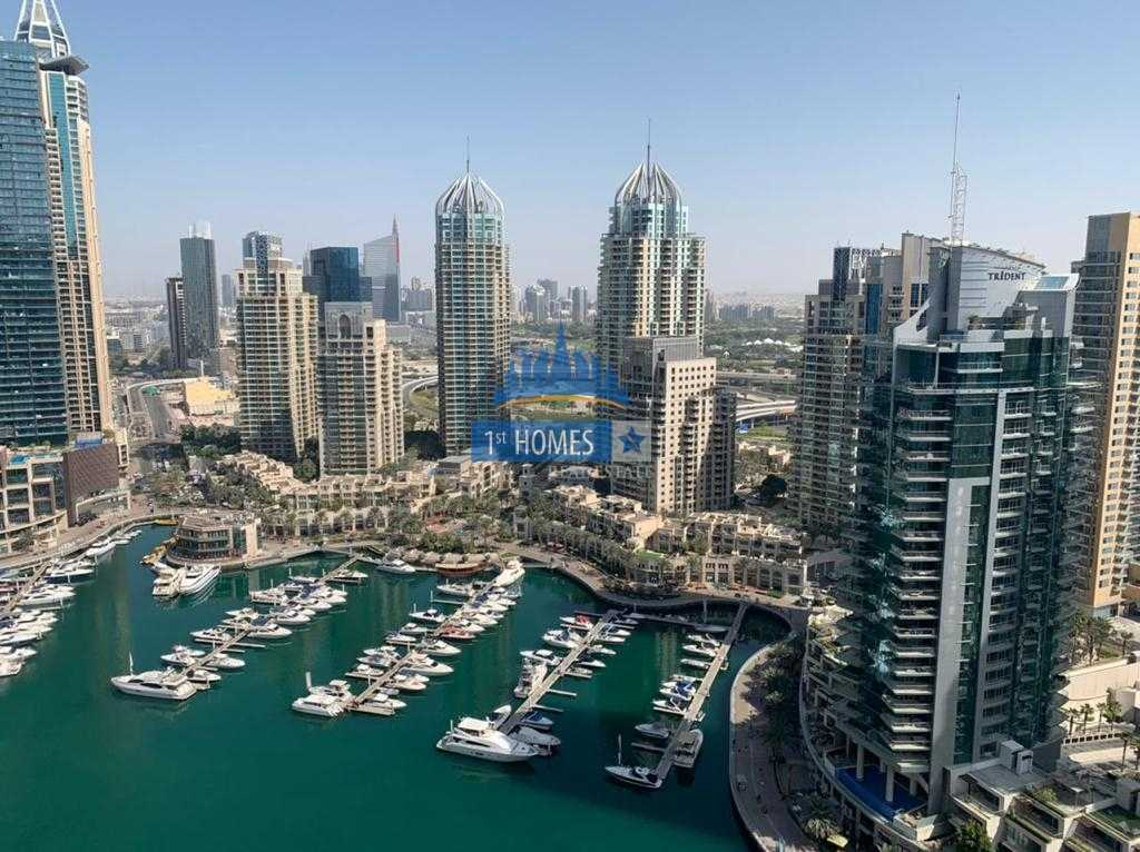 Brand New 3BR / Perfect Condition / Full Marina View