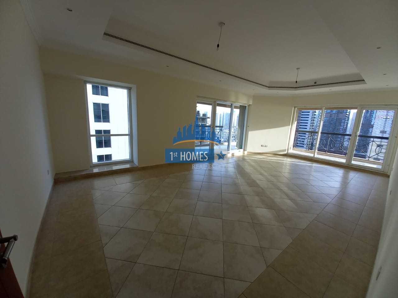 Vacant / Huge 3 Br + Maids + Study / Partial Sea View
