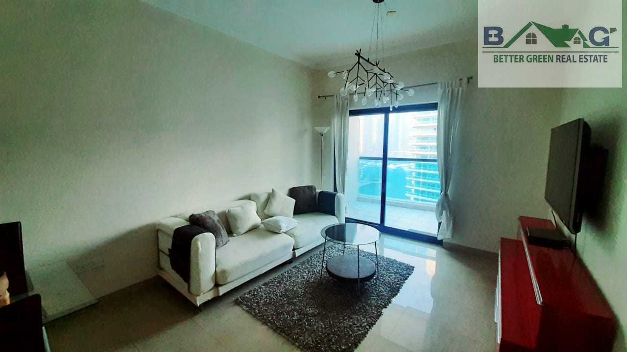 Fully Furnished Chiller free High Floor With Balcony Marina View