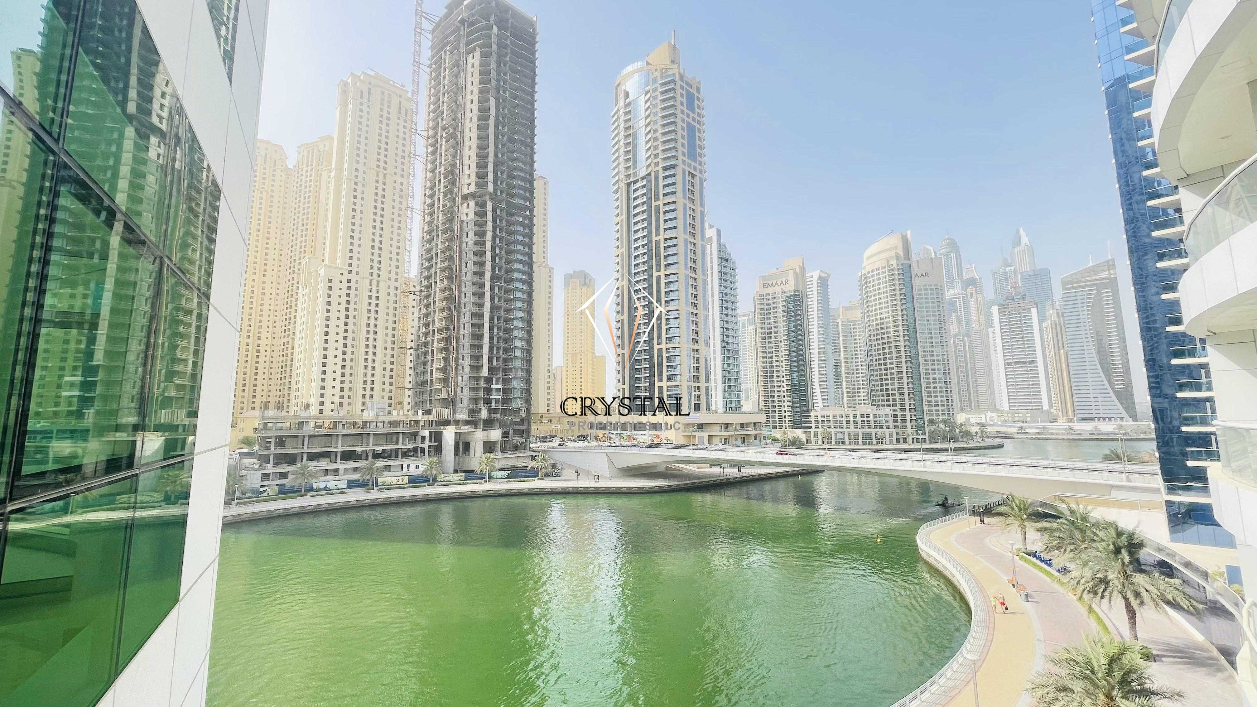 Reduced Price I Stunning Full Marina View I 2 BR