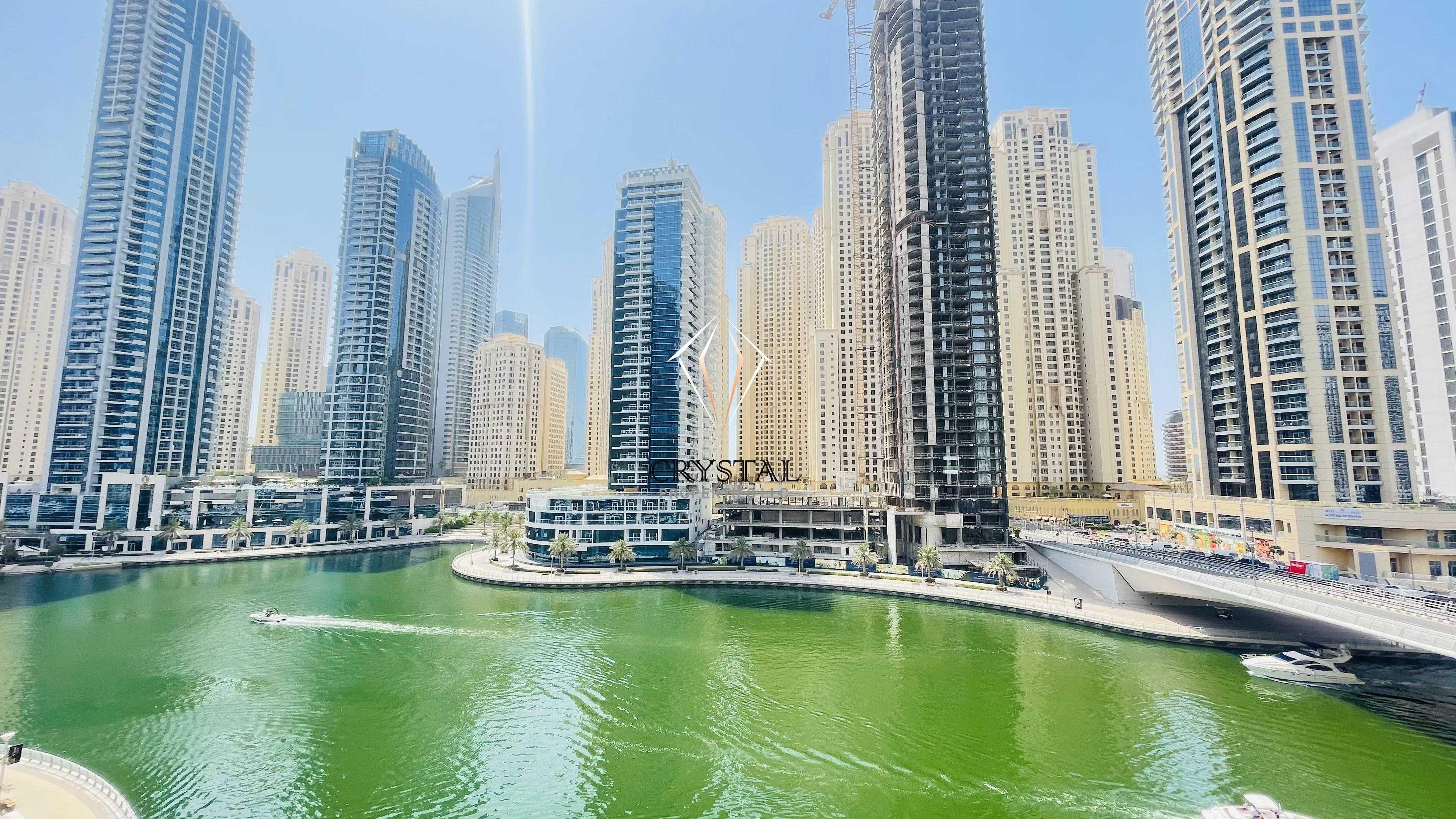 Stunning Full Marina View I Luxury 2BR I Furnished