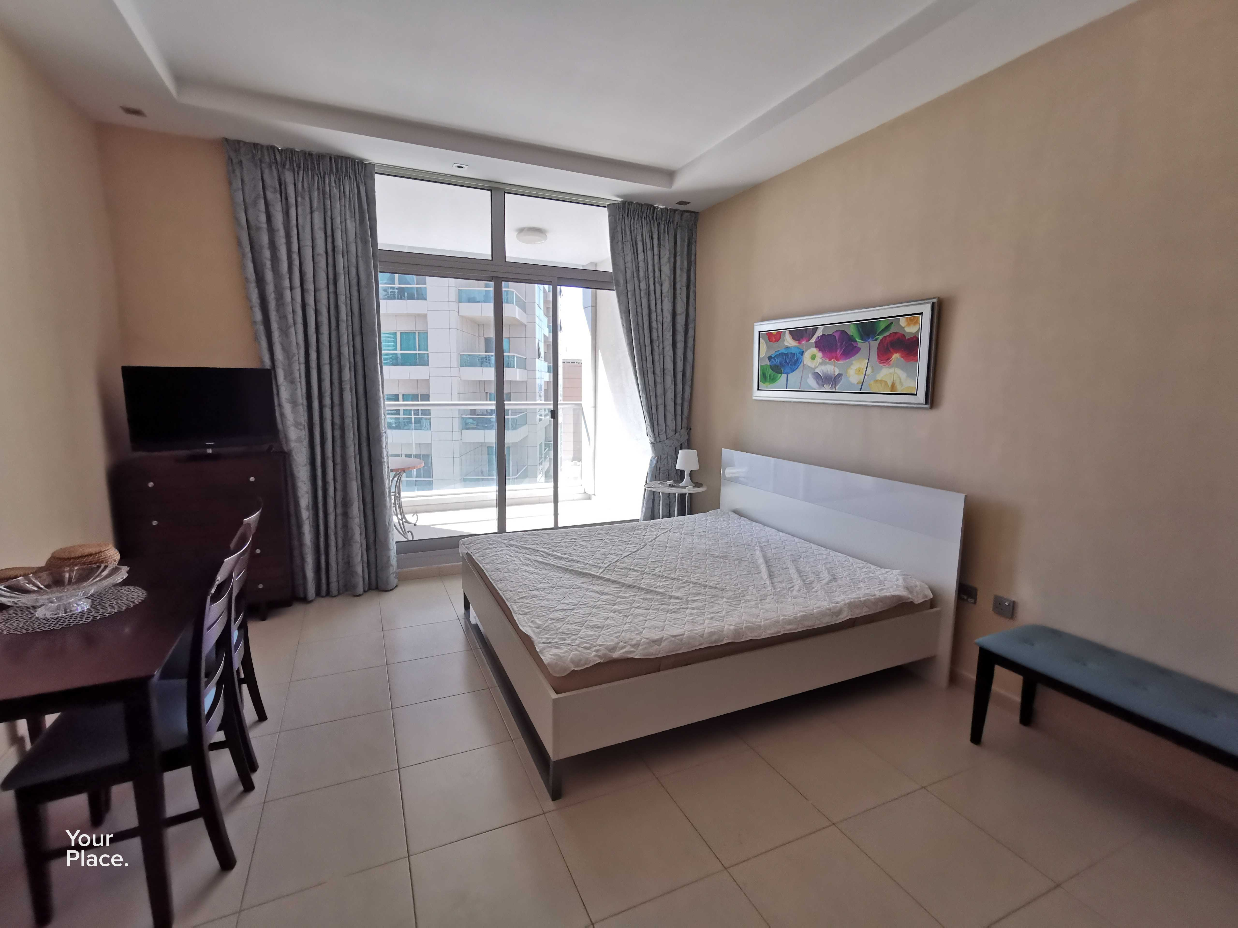 Fully Furnished - Chiller Free - Mid Floor