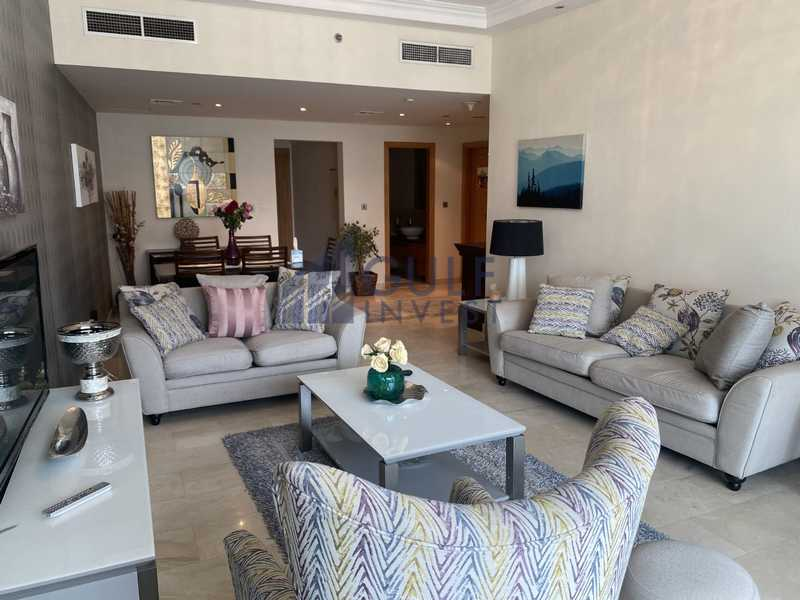 Next to the Metro, Marina View,Furnished 2BR+maids