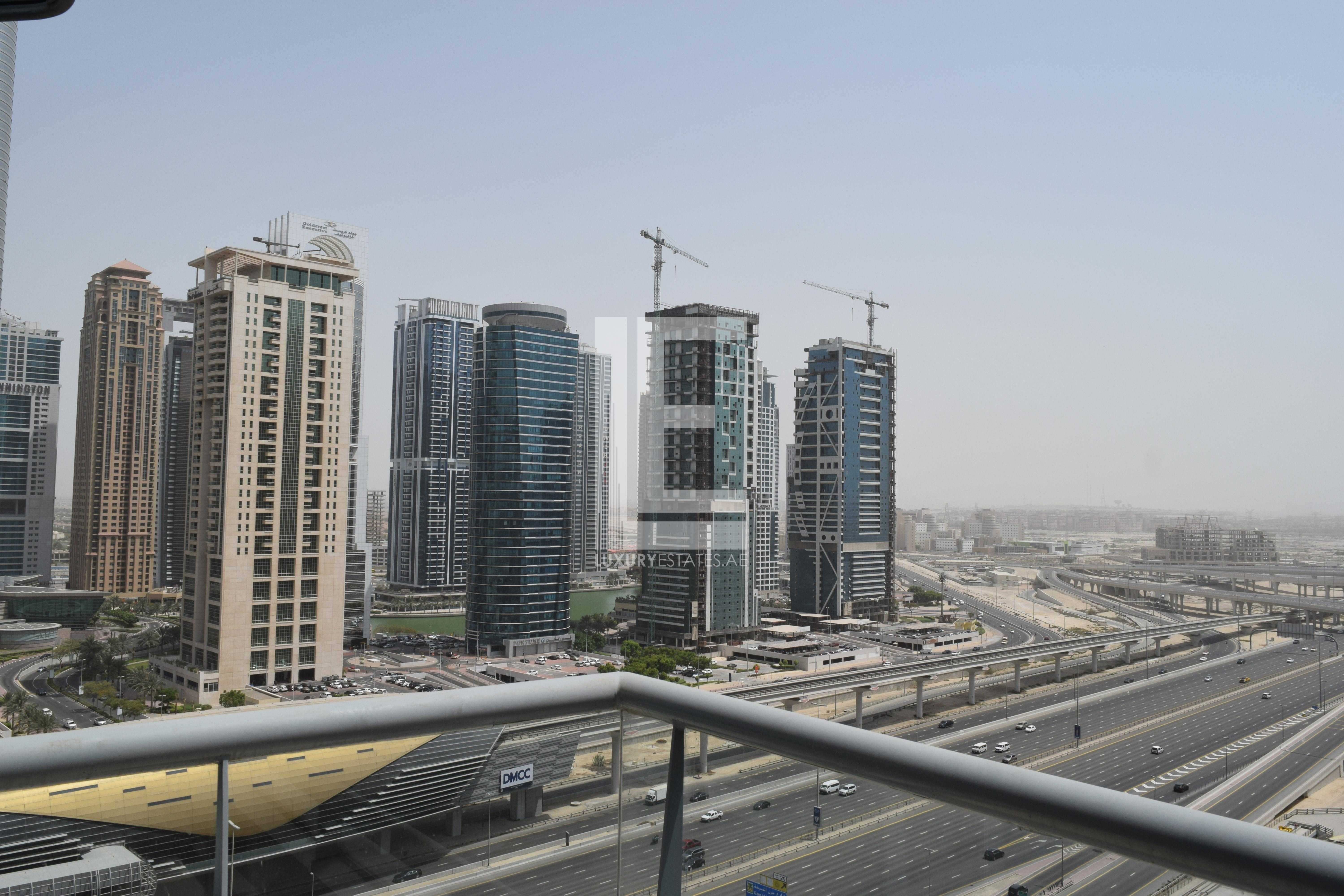 Higher Floor   Semi-furnished   Excellent Views