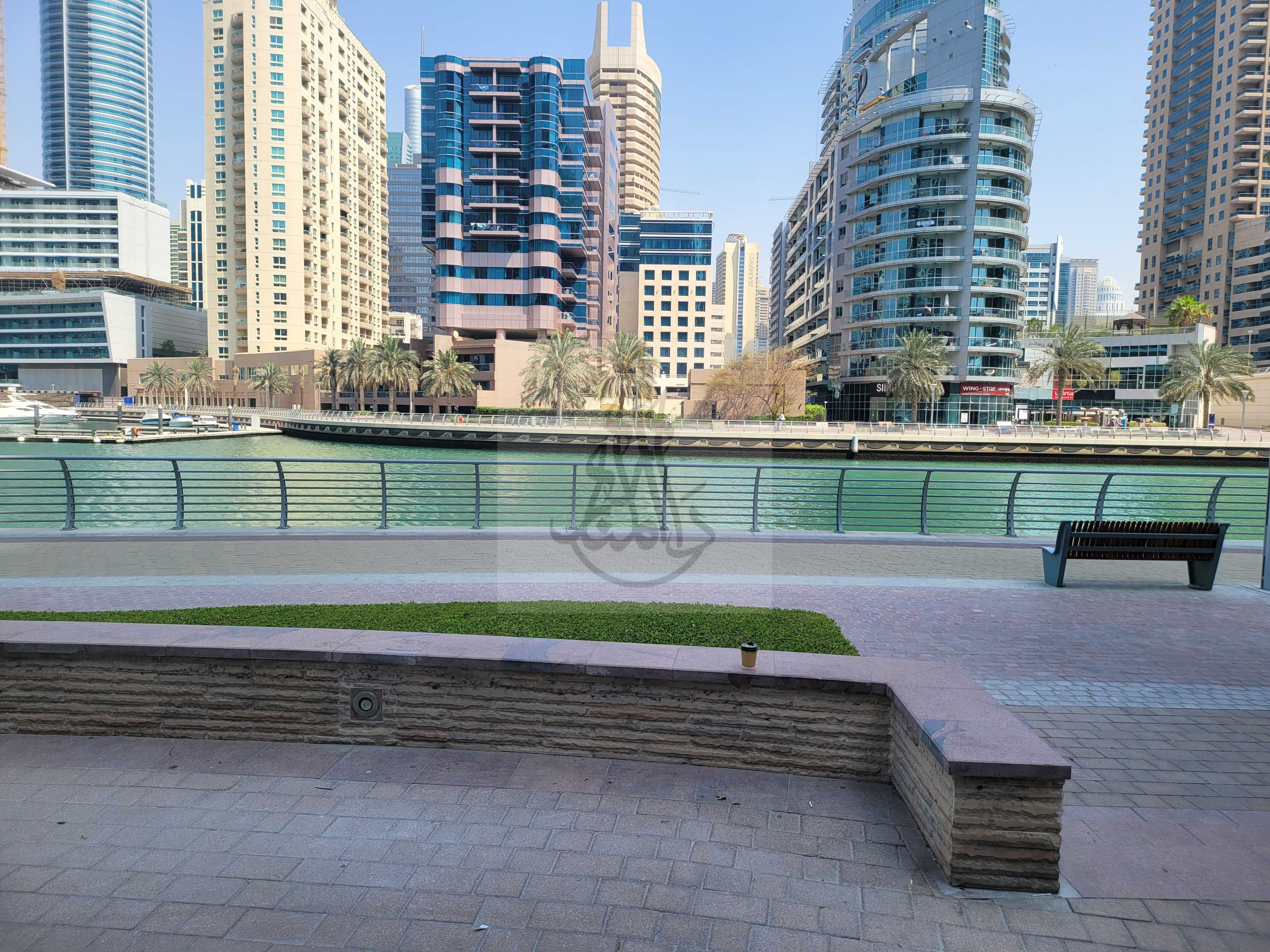 Urgently for Rent in Reduces   Wharf 1  Marsa Dubai Marina    Shell & Core Shop  Size 1289 Sq ft   For Rent in 75K  only