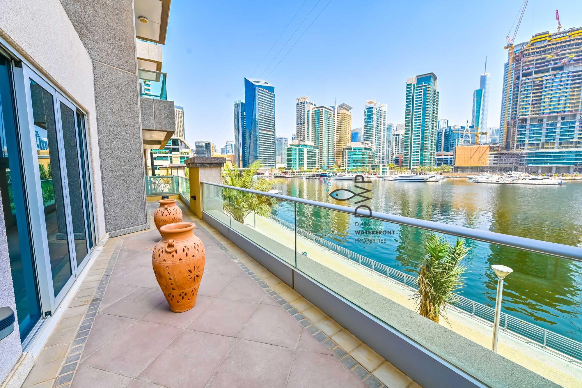 Genuine Listing! Stunning 1BR | Marina Promenade -  Paloma Tower |  Marina Facing