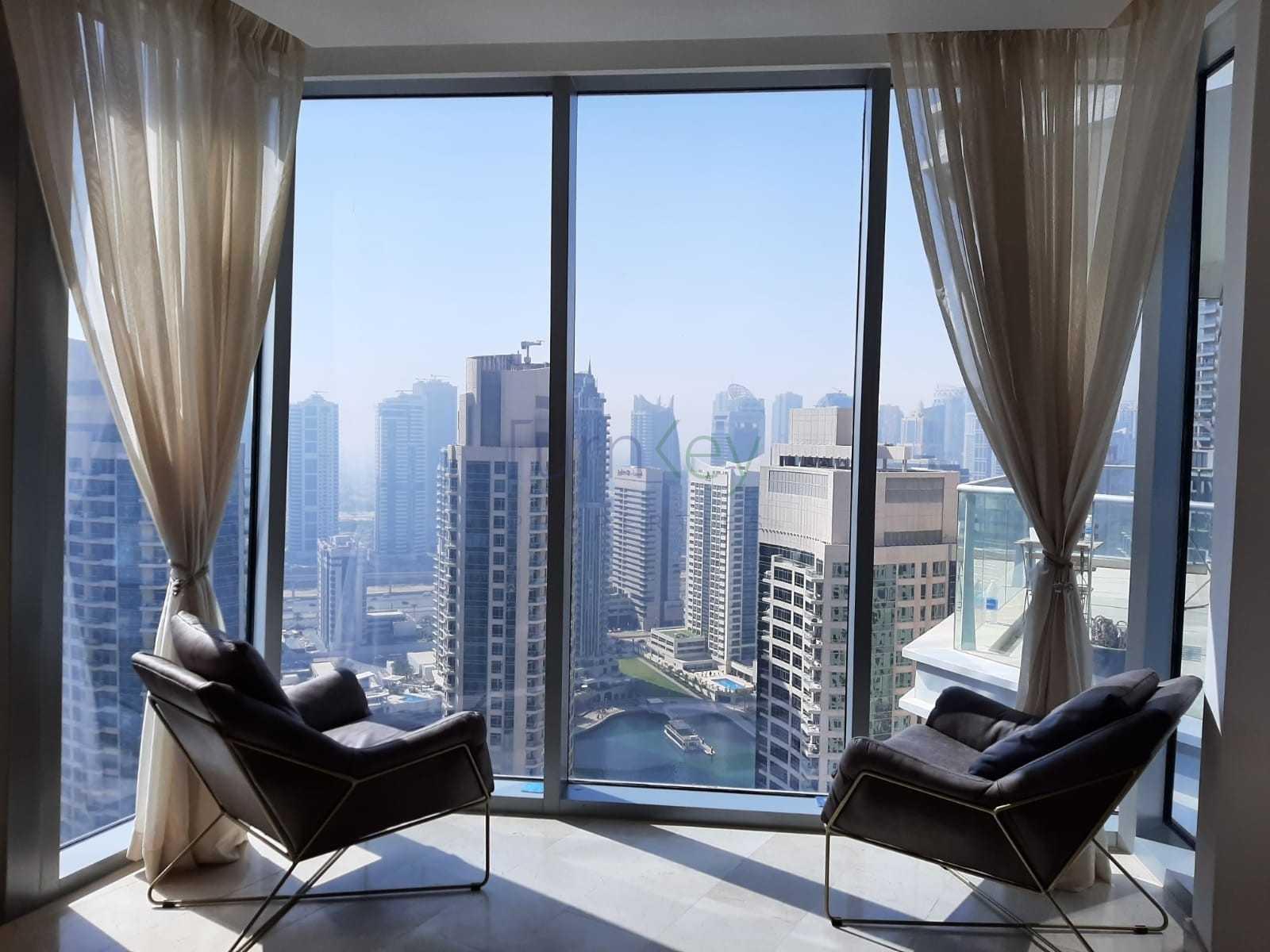 2BR Apartment for Rent I High Floor I Marina & Sea View